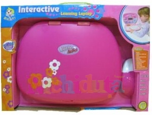 Misen Toys Laptop copii Flowers